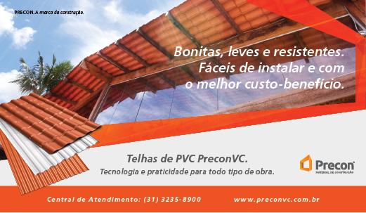 Telhas de PVC - PreconVC - Tecnologia e praticidade para todo tipo de obra