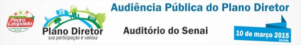 Audiência Pública do Plano Diretor