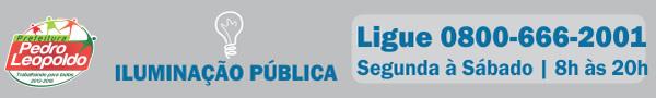 Iluminação Pública - Ligue: 0800-666-2001
