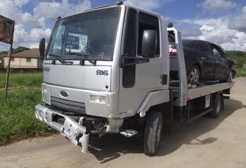 Acidente na MG 424 Novo Campinho - 345 X 237