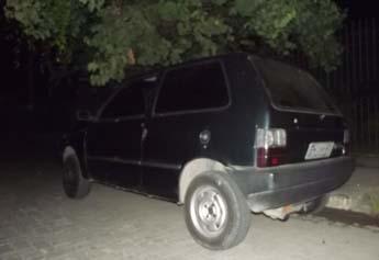 Carro usado na fuga