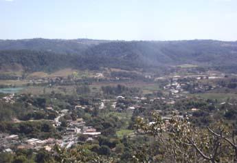 Imagem de Vera Cruz de Minas, vista do alto do Cruzeiro