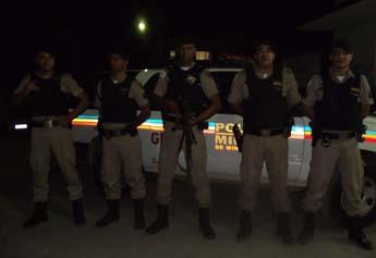 Policiais que atuaram na operação que terminou com a prisão de Adriano.
