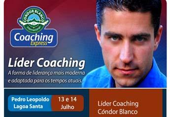 Seminário Líder Coaching dias 13 e 14 de julho em Lagoa Santa