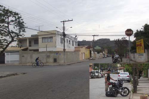 Menor seguia pela Rua Santa Luzia