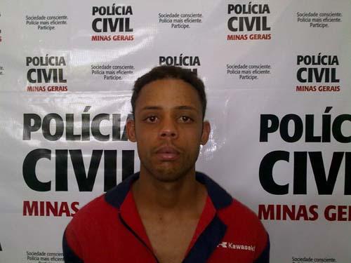 Foto do acusado foi enviada pela Polícia Civil