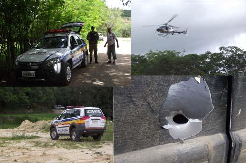 Movimentação Policias na área rural da cidade