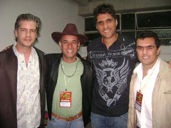A dupla Victo e Léo recebe no Camarin os radialista Pacheco de Souza e Lucas Azevedo  - PLRS de 2008