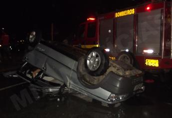 Motorista de 44 anos morre ao bater de frente com outro veículo