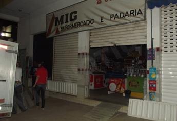 Loja foi assaltada três vezes em pouco mais de um mês