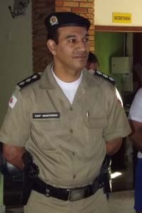 Capitão Machado assume Cia 182