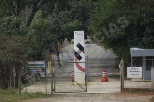 Mineradora está localizada no bairro Lagoa de Santo Antônio