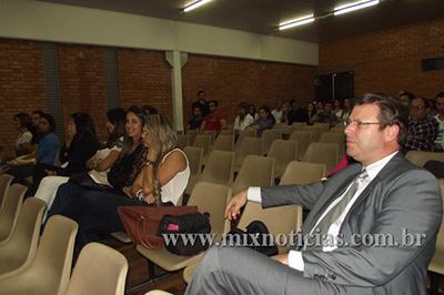 Dr. Otávio Lomônaco também participou da palestra com Dr. Henrique
