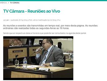 Professor Sávio durante questionamentos à Secretária de educação Flávia Cadete