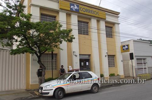 Arrombada por bandidos no centro de Pedro Leopoldo