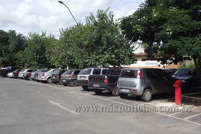 Estacionamento no centro será modernizado