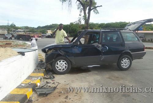 Três acidentes em menos de 10 dias