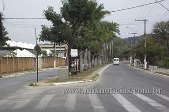 Avenida Rômulo Joviano em frente ao Parque