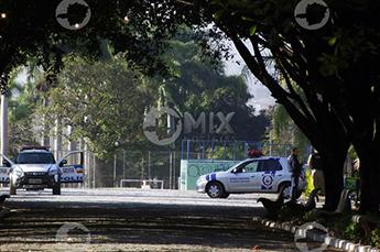 Polícia e Guarda Patrimonial estiveram no local